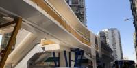 巴波沙大马路与菜园涌边街交界行人天桥完成维修重开 - 新闻局