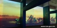 """艺博馆""""千里江山图3.0""""数码艺术展重新开放 - 文化局"""