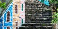 氹仔风景巷石级壁画呈现旧城特色风情 - 文化局